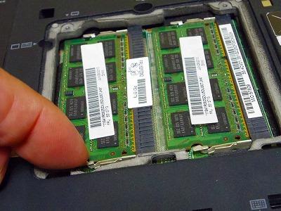 ThinkPad X201を大容量バッテリーに交換してみたレポート