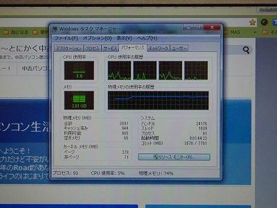 X201メモリー交換